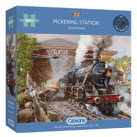 Pickering Station 1000 Piece Gibsons Jigsaw